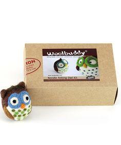 Love this Owl Needle Felting Kit on #zulily! #zulilyfinds