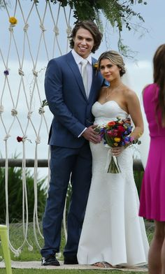 Home and Away is lining up a wedding for a pregnant Billie Ashford and VJ Patterson - DigitalSpy.com