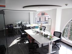 Oficinas de LAMUVI Films. Proyecto Llave en Mano, obra civil y restauración de sistemas modulares.