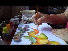 Pintura do Mamão aberto e fechado - YouTube