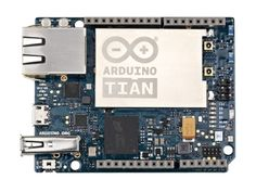 The new Arduino Tian board featuring a 32-bit ARM Cortex® M0 core and a Qualcomm…