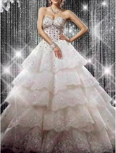 Price:$220.00 Material: Rhinestone  Unique Luxury Rhinestone Dress