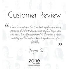 The customer is the final filter. We are always happy to hear what our customers have to say and thought that we would share some customer comments with you.