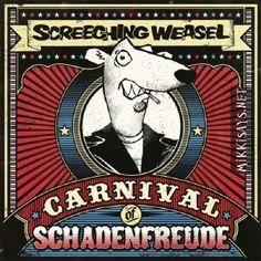 punk rock albums | Punk Rock) Screeching Weasel - Carnival Of Schadenfreude [EP] - 2011 ...