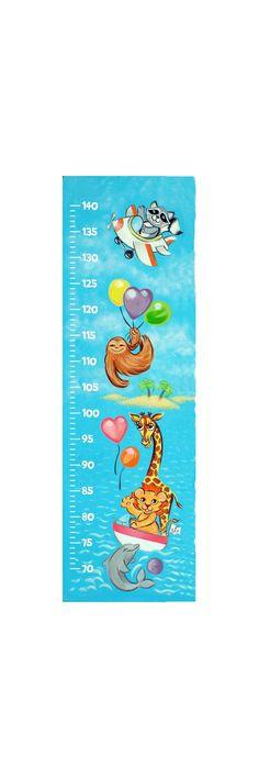 Wall Ruler, Wall Sticker, Children Height Chart, Growth Chart Sticker, Child Measurer, Nursery Decor, Baby Animals, Cute Animals, Safari Easy Cross, Simple Cross Stitch, Sticker Paper, Wall Sticker, Stickers, Wall Ruler, Baby Animals, Cute Animals, Height Chart