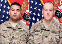 Sgt. 1st Class Bobby L. Estle, 38, of Lebanon, Ohio, and Pfc. Jose Oscar Belmontes, 28, of La Verne, Calif. died July 28 in Wardak province, Afghanistan, of wounds suffered from enemy small arms fire.  These soldiers were assigned to the 630th Engineer Company, 7th Engineer Battalion, 10th Sustainment Brigade, Fort Drum, N.Y.  http://www.defense.gov/releases/release.aspx?releaseid=15483