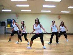 ▶ Salsaton - salsa/reggaeton FITNESS routine - YouTube