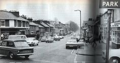 London road, st. Albans late 1960s St Albans, Great British, British History, Childhood Memories, Past, 1960s, Street View, England, Spaces