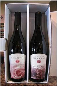 Chateau Chantal Naughty and Nice red.  Soooo good.