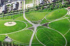Buro Sant en Co landschapsarchitectuur - Park de Hoge Weide - Utrecht