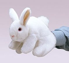 White Bunny Rabbit Puppet at theBIGzoo.com, a family-owned store. Check our sales & FREE Shipping.