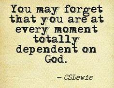 I always forget..unfortunately!