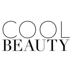 Cool Beauty text ❤ liked on Polyvore featuring text, beauty, words, phrase, quotes and saying