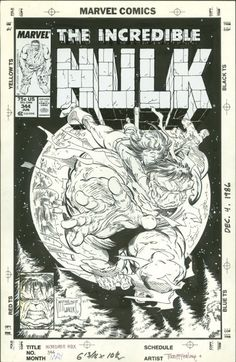 Incredible Hulk #344 by Todd Mcfarlane