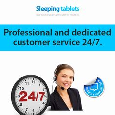 Professional and dedicated customer service 24/7.