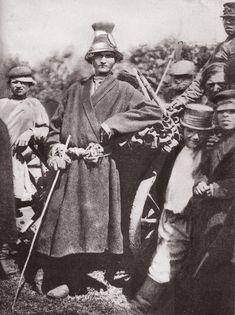 The village boys. Russia, 1900s