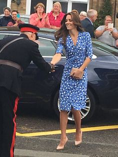 """Rebecca English on Twitter: """"The Duchess is wearing a dress by Altuzarra - new label for her."""