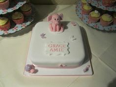 Christening cake - for my princess x