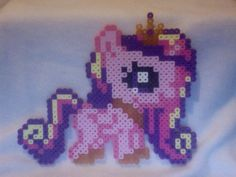 My Little Pony Silly Filly Perler Ponies: Princess Cadence