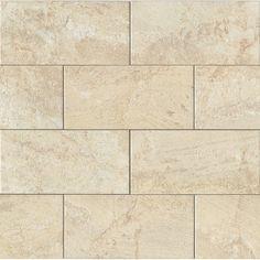 MSI Marmi Crema Beige In X In Glazed Ceramic Wall Tile - 6 x 12 porcelain floor tile