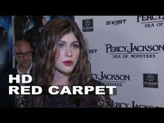 "Percy Jackson: Sea of Monsters: Alexandra Daddario ""Annabeth Chase"" Hamp..."