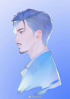 Iron Man is here! More handsome and younger! Beautiful Drawings, Cool Drawings, Pretty Art, Cute Art, Illustrations, Illustration Art, Character Drawing, Character Design, Fanarts Anime