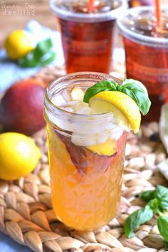 Make Iced Tea Lemonade