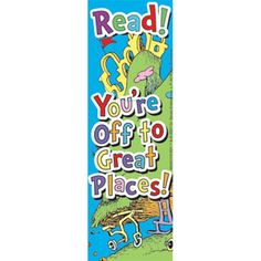 Oh, The Places You'll Go! Bookmarks