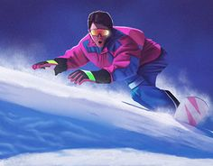 """Check out new work on my @Behance portfolio: """"Winter games"""" http://be.net/gallery/40456163/Winter-games"""
