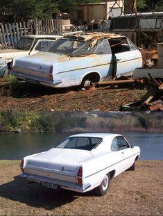 Restored 1966(?) HR Holden 2 door fast back concept - ab0d2359344e8d27f8e800aef79f28c3.jpg 594×785 pixels