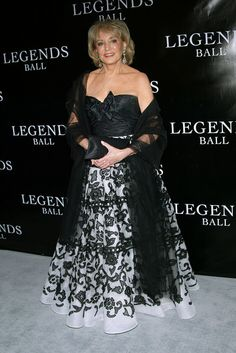Barbara Walters attends the Legends Ball hosted by Oprah Winfrey