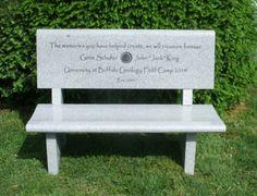 green granite memorial bench jinkuistone http www jinkuistone com
