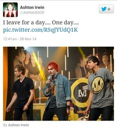 See they would become a girl band if Ashton left. Not saying that they are a boy band. I love them so much lol
