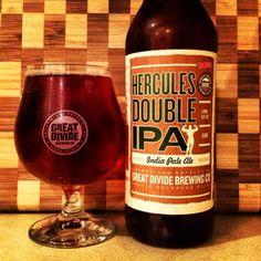 Hercules Double IPA - Great Divide Beer Co - Denver, CO
