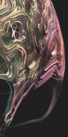 Fließend ~ visualized flieds on surfaces