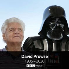 """BBC News az Instagramon: """"Dave Prowse, best known for playing Darth Vader in the original Star Wars trilogy, has died aged 85. The former bodybuilder was cast as…"""" Dave Prowse, Bbc News, Bodybuilding, It Cast, Star Wars, Darth Vader, Age, The Originals, Fictional Characters"""