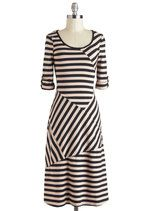 Dresses - All Stripes on You Dress