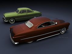 1949 Ford Club Coupes