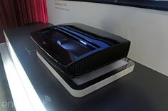 LG sneaks a new version of its 'Laser TV' projector into CES 2014