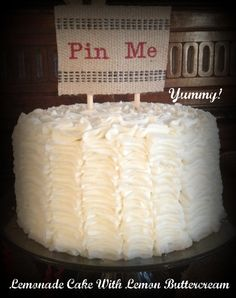 """""""Pinterest Party"""" Cake.  """"Pinned"""" from Pinterest!  #pinterest #party"""