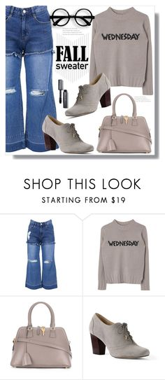 """""""Wednesday"""" by queenvirgo ❤ liked on Polyvore featuring SJYP, Maison Margiela, Lands' End and Bobbi Brown Cosmetics"""