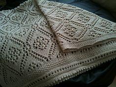 Ravelry: Sea of Dreams Baby Blanket pattern by Aimee Alexander Crochet Blanket Patterns, Baby Blanket Crochet, Crochet Baby, Lace Patterns, Knitted Baby Blankets, Knitted Blankets, Cot Blankets, Knitted Afghans, Dream Blanket