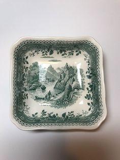"""VILLEROY & BOCH china BURGENLAND GREEN Saucer 5 1/2"""""""