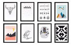 Affiches Oelwein Chez CHIARA STELLA HOME