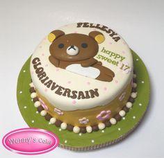 Rilakkuma cake by Wenny's Cake