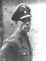 Alois Brunner. Mossad sent him Letter Bombs causing him to lose an eye and fingers on one hand. According to israeli sources he has been shielded by the Syrian regime for decades - today if still alive he would be well over 90 years old. One of the worst killers of the Nazi-Regime.
