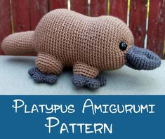 Crochet Pattern: Platypus Amigurumi PDF Instant Download