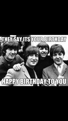 Happy Birthday to you! Happy Birthday to you! Beatles Birthday, Happy Birthday Music, Happy Birthday 18th, Happy Birthday Quotes, It's Your Birthday, Birthday Messages, Girl First Birthday, Happy Birthday Wishes, Birthday Greetings