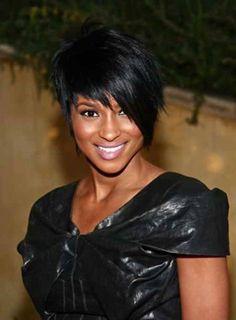 5 Cool African American Black Pixie Haircut With Long Bangs | DesignIdeaz