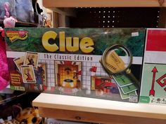 Clue. The classic edition
